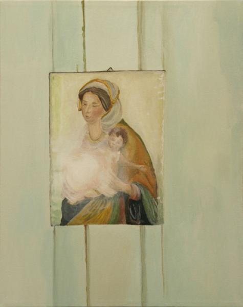 o.T. 2007 Akryl auf Leinwand, 40 x 50 cmimage 2 of 5