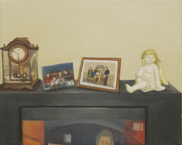 o.T. 2007 Akryl auf Leinwand, 50 x 40 cm
