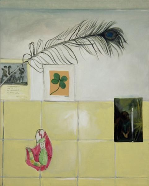 o.T. 2007 Akryl auf Leinwand, 40 x 50 cm