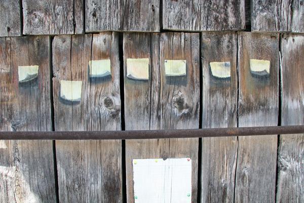 Ausschnitt, Akryl auf Holz