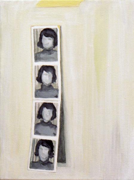 Passbilder 2007, Akryl auf Leinwand, 19 x 25 cmimage