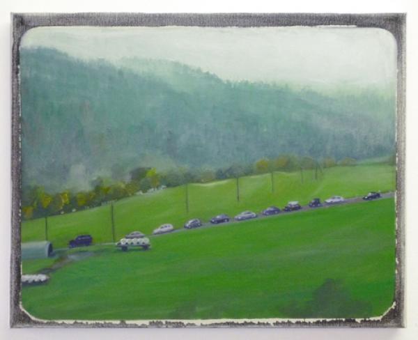 Aussicht 3 2008, Öl auf Baumwolle, 50 x 40 cm
