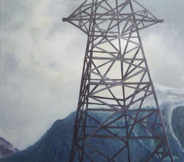 Aussicht 2 2008, Öl auf Baumwolle, 70 x 50 cmimage