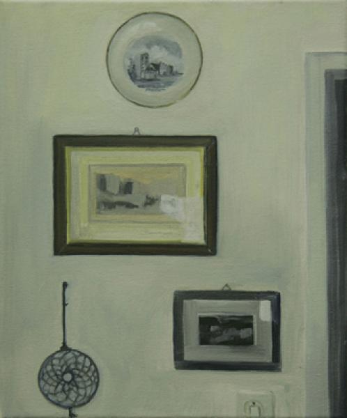 Ilka 2008, Öl auf Baumwolle, 26 x 32 cmimage