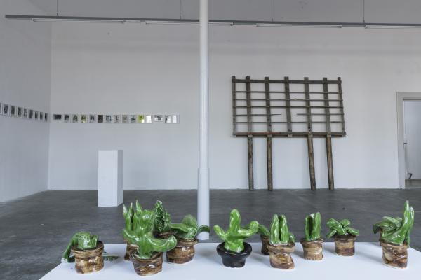 Ausstellung Pastiche Foto von Johanna Bossart