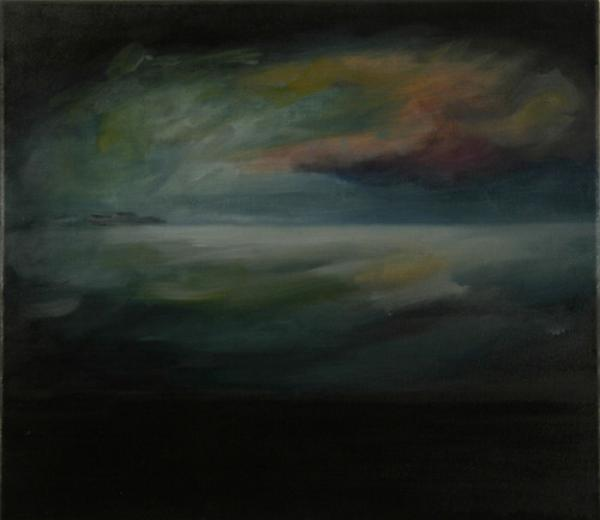 Tod in Venedig 2008, Öl auf Baumwolle, 40 x 35 cmimage
